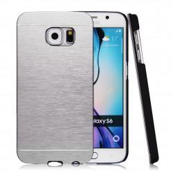 Zadnji pokrovček za Samsung Galaxy S6, srebrne barve