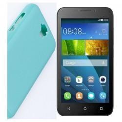 """Etui """"JELLY"""" za Huawei Y5, modra barva"""