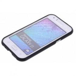 "Etui ""Jelly"" za Samsung Galaxy J1, Črna barva"