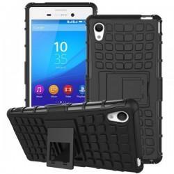 Etui Dual Armor za Sony Xperia M4 Aqua, črna barva