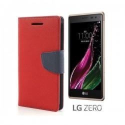 "Preklopna Torbica ""Fancy"" za LG Zero, Rdeča barva"