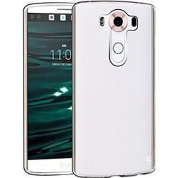 Silikonski etui za LG V10, debeline 0,8mm, Prozorna barva
