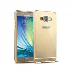 "Etui ""Alu"" za Samsung Galaxy A3, Zlata barva"