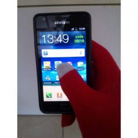 Rokavice za Zaslone na dotik, Rdeča barva
