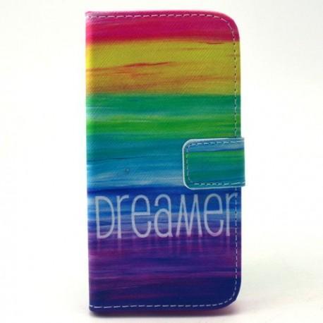 """Preklopna Torbica """"Fancy"""" za Samsung Galaxy Core Prime, barvna z vzorcem"""