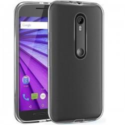 Silikonski etui za Motorola Moto G (3rd gen), debeline 0,3mm, Prozorna barva
