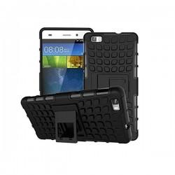 Etui Dual Armor za Huawei P8 Lite, črna barva