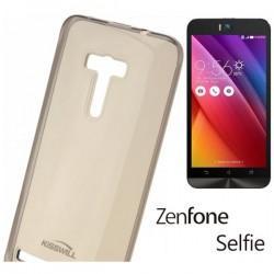 Silikonski etui Kisswill za Asus ZenFone Selfie ZD551KL, prosojno temna barva