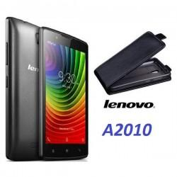 "Preklopna Torbica ""flexi"" za Lenovo A2010, Črna barva"