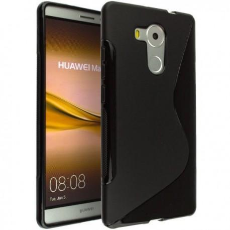 Silikon etui S za Huawei Mate 8, Črna barva