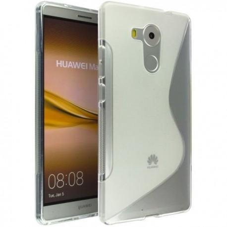 Silikon etui S za Huawei Mate 8, Transparent
