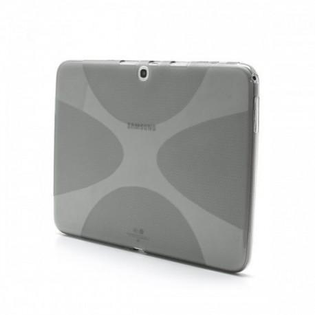 Silikon etui za Samsung Galaxy TAB 3 10.1 (P5200,P5210) Siva barva