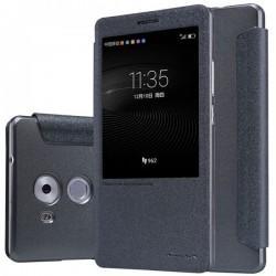 """Etui Nillkin """"Window""""za Huawei Mate 8, temno siva barva"""
