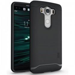 """Etui Tudia """"Dual Armor Slim"""" za LG V10, črna barva"""