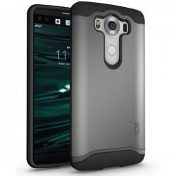 """Etui Tudia """"Dual Armor Slim"""" za LG V10, srebrna barva"""