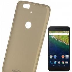 Silikonski etui Kisswill za Huawei Nexus 6P, prosojno temna barva