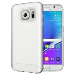 "Etui ""Tudia"" za Samsung Galaxy S7, High Quality, transparentno bela barva"