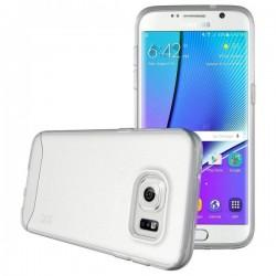 "Etui ""Tudia"" za Samsung Galaxy S7 Edge, High Quality, transparentno bela barva"