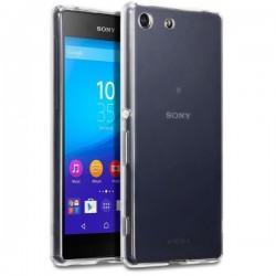 Silikonski etui za Sony Xperia M5, debeline 0,3mm, Prozorna barva