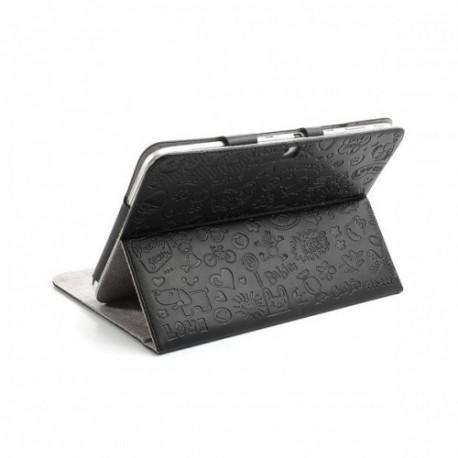 Torbica za Samsung Galaxy TAB 3 10.1 (P5200,P5210)+ Gratis Folija, Črna barva, motiv