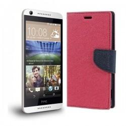 "Preklopna Torbica ""Fancy"" za HTC Desire 626, Pink barva"