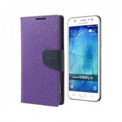"Preklopna Torbica ""Fancy"" za Samsung Galaxy J5, Vijola barva"