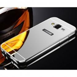 """Etui """"Alu"""" za Samsung Galaxy J5, Srebrna barva"""
