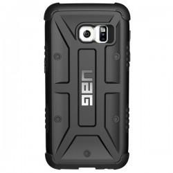 Etui Urban Armor Gear za Samsung Galaxy S7 + Folija ekrana, črna barva