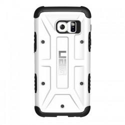 Etui Urban Armor Gear za Samsung Galaxy S7 + Folija ekrana, bela barva