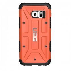 Etui Urban Armor Gear za Samsung Galaxy S7 + Folija ekrana, oranžna barva