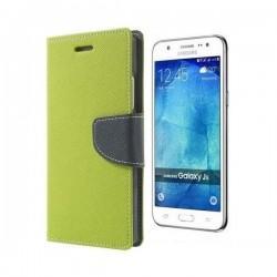Preklopna Torbica Fancy za Samsung Galaxy J5, Zelena barva