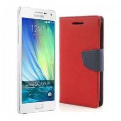 """Preklopna Torbica """"Fancy"""" za Samsung Galaxy A5, Rdeča barva"""