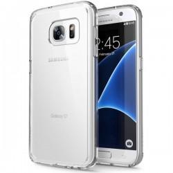 Silikonski etui za Samsung Galaxy S7, debeline 0,3mm, Prozorna barva