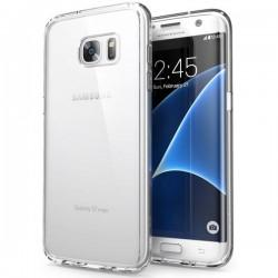 Silikonski etui za Samsung Galaxy S7 Edge, debeline 0,3mm, Prozorna barva