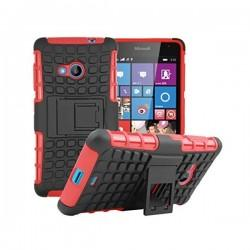 Etui Dual Armor za Microsoft Lumia 535, rdeča barva