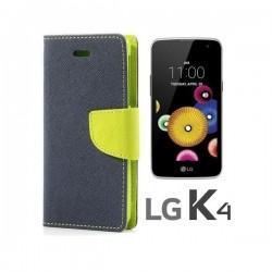 "Preklopna Torbica ""Fancy"" za LG K4, Modra barva"
