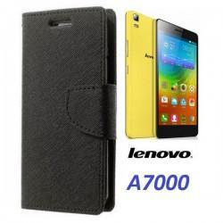 """Preklopna Torbica """"Fancy"""" za Lenovo A7000, Črna barva"""