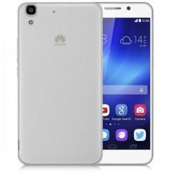 Silikonski etui za Huawei Y6, debeline 0,3mm, Prozorna barva