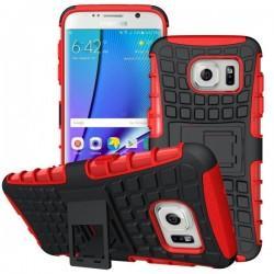 Etui Dual Armor za Samsung Galaxy S7 Edge, Rdeča barva