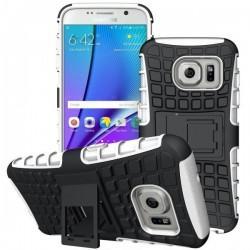 Etui Dual Armor za Samsung Galaxy S7 Edge, Bela barva