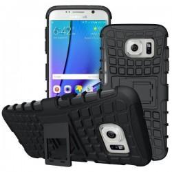 Etui Dual Armor za Samsung Galaxy S7 Edge, Črna barva
