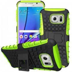 Etui Dual Armor za Samsung Galaxy S7 Edge, Zelena barva