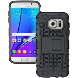 Etui Dual Armor za Samsung Galaxy S7, Črna barva