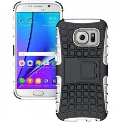 Etui Dual Armor za Samsung Galaxy S7, Bela barva