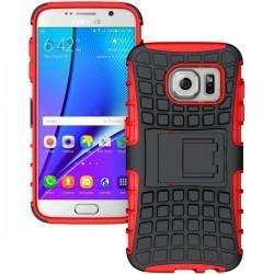 Etui Dual Armor za Samsung Galaxy S7, Rdeča barva