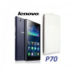 "Preklopna Torbica ""flexi"" za Lenovo P70, Bela barva"