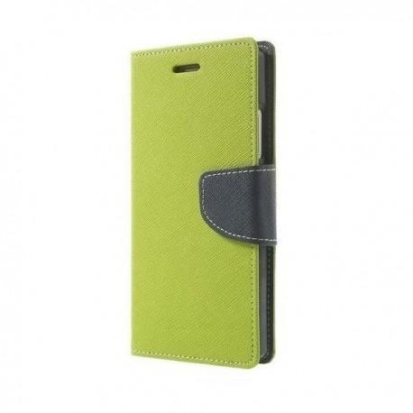 "Preklopna Torbica ""Fancy"" za Microsoft Lumia 650, Zelena barva"