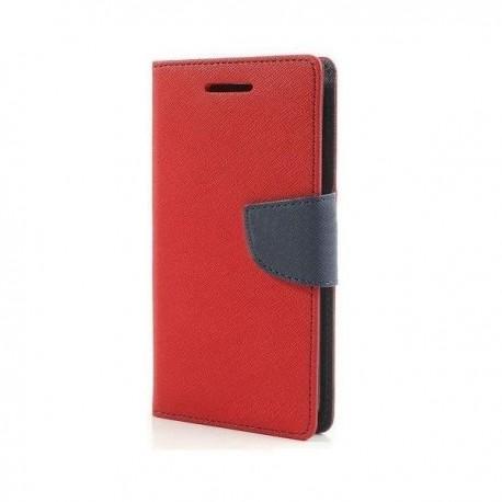 """Preklopna Torbica """"Fancy"""" za Microsoft Lumia 650, Rdeča barva"""