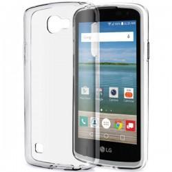 Silikonski etui za LG K4, debeline 0,3mm, Prozorna barva