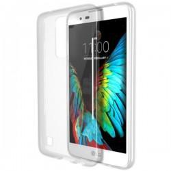 Silikonski etui za LG K10, debeline 0,3mm, Prozorna barva